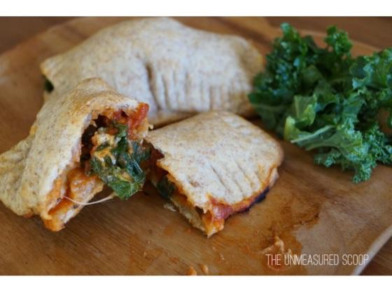 Kale & Italian Sausage Mini Calzones