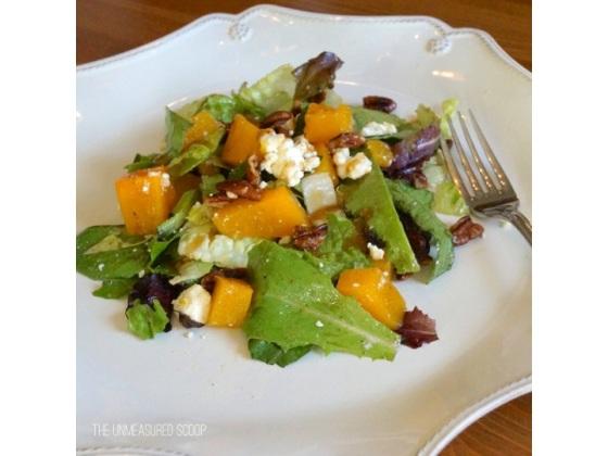 Butternut Squash Salad w/ Mustard Vinaigrette