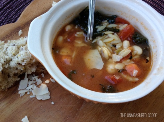 Kale & Orzo Minestrone