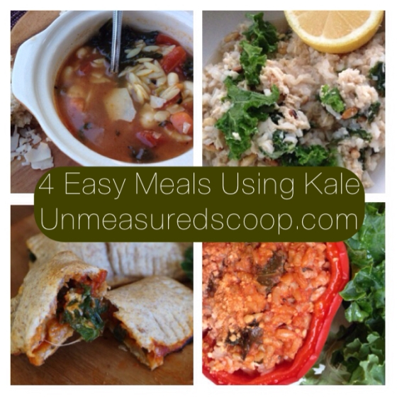 4 Easy Meals Using Kale