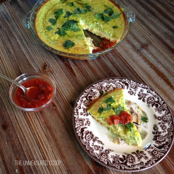 Southwest Spinach Egg Casserole